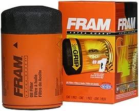 Fram PH3600 Extra Guard Passenger Car Spin-On Oil Filter (Pack of 2)