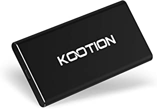 Kootion External SSD 250GB Portable SSD High-Speed Solid State Drive, Read up to 500MB/s & Write up to 450MB/s
