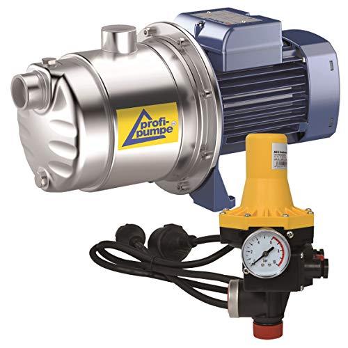 HAUSWASSERWERK KREISELPUMPE HAUSWASSERAUTOMAT INNO-TEC 600 - mit DRUCKSCHALTER AC 3 vk SELBSTANSAUGENDE 4-Stufige leise Pumpe für klares Brauchwasser