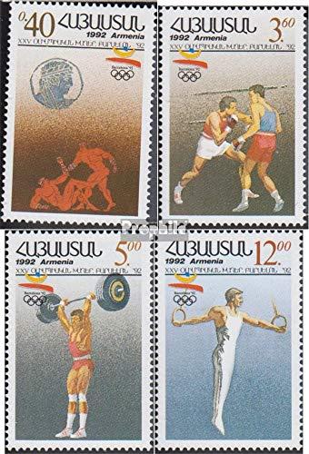 Prophila Collection Armenia Michel.-No..: 199-202 Quattro Strisce (Completa Edizione) 1992 Olympics Estate ´92 (Francobolli per i Collezionisti) Sport da Combattimento