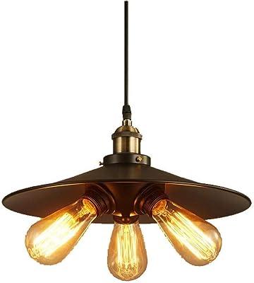 Amazon.com: Lámpara de techo industrial vintage de cocina ...