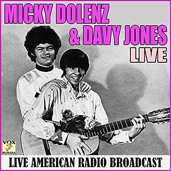Micky Dolenz and Davy Jones Live (Live)