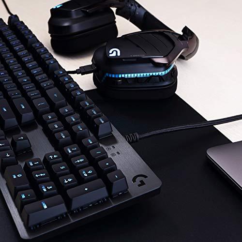 Logitech G513 Tastiera Gaming Meccanica Retroilluminata RGB con Switch Tattile Romer-G, Carbon, QWERTY Layout Italiano