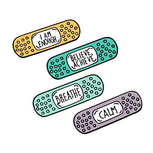 2-7Pcs / Set Lustige Emaille Brosche Cartoon Katze Pink Spielkonsole Auto Erde Pins Süße Pillen Pflaster Brief Zeichen Revers Abzeichen Schmuck-Pflaster, China