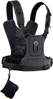 Cotton Carrier CCS G3 Camera Harness System for One Camera - Grey