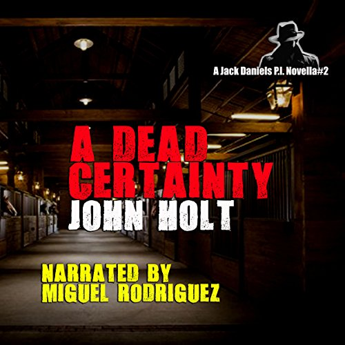 A Dead Certainty audiobook cover art