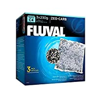 Chemical filter medium. Premium blend of Fluval activated carbon and Fluval ammonia remover Extremely effectively eliminates dissolved impurities, odours and discolouration. Removes toxic ammonia Creates clean and healthy aquariums