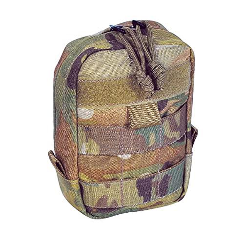 Tasmanian Tiger TT Tac Pouch 1 bolsa de mochila adicional con sistema Molle y área de parche, 15 x 10 x 4 cm