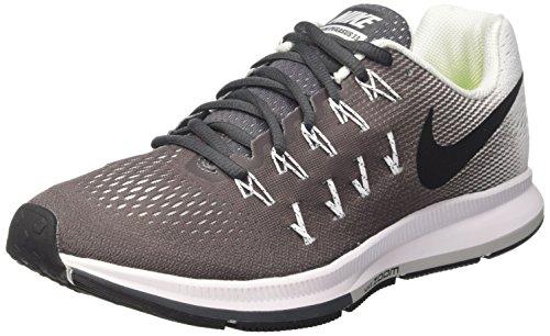 Nike Wmns Air Zoom Pegasus 33, Zapatillas de Running Mujer, Gris (Gris (Dark Grey/Black-White), 38 1/2 EU