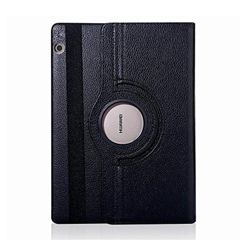12.2 Inch Case for Samsung Galaxy Tab Note Pro 12.2 P900 / 901/905 SM-P900 T900 Tablet Case 360 Rotating Bracket Flip Stand Cover-P900-schwarz