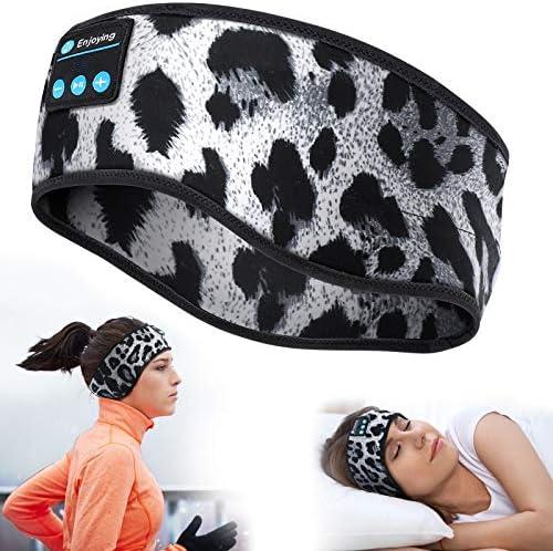 Sleep Headphones Bluetooth Sports Headband Wireless Music Sleeping Headphones Eye Mask with product image