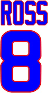 David Ross Chicago Cubs Jersey Number Kit, Authentic Home Jersey Any Name or Number Available