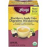 Yogi Té, Blackberry Apple sidra despertar digestivo, 16 unidades