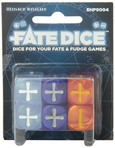 Fate Core Dice: Winter Knight