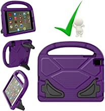 iPad Mini Case, iPad Mini Covers, Tablet Kids Friendly Light Weight EVA Foam Kid-Proof Drop-Proof Holder Cover with Stand Handle Universal for Apple iPad Mini, Mini 2, Mini 3 and Mini 4 - Purple