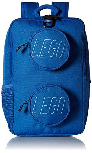 LEGO Unisex - Mochila de ladrillo para adultos, Blue (Azul) - DP0960-700B