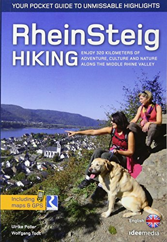 Rheinsteig Hiking - Your pocket guide to unmissable highlights: 320 km adventure, culture and nature (Ein schöner Tag Pocket / Pocketwanderführer von ideemedia)