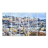 Bild Bilder auf Leinwand Alte Stadt von