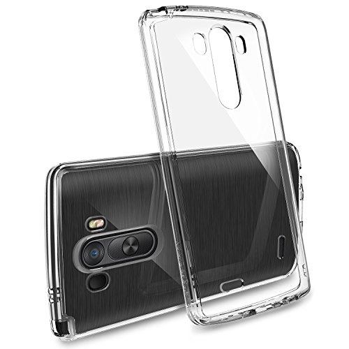 LG G3 Case - Ringke FUSION Case [Free HD Film/Drop Protection][CRYSTAL CLEAR] Shock Absorption Bumper Premium Hard Case for LG G3 - Eco/DIY Package