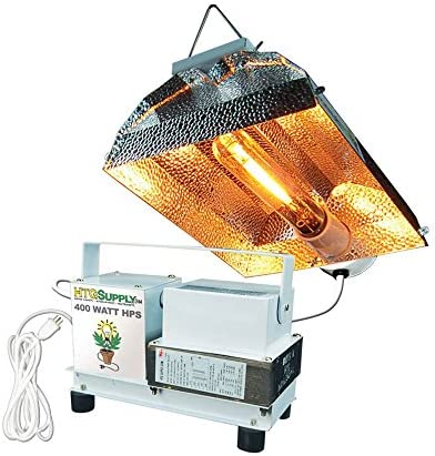 HTG Supply 400 Watt High Pressure Sodium HPS Complete Grow Light Bulb Included product image