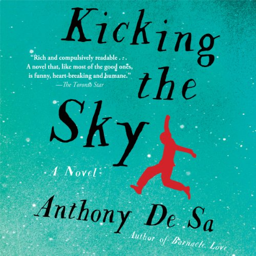 Kicking the Sky audiobook cover art