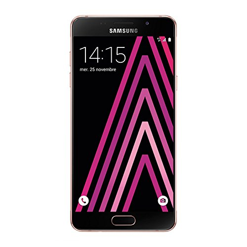 Samsung Galaxy A5 Smartphone 4G, entsperrt 5,2-Zoll-Display (14,5 cm), 16 GB, Simple-Nano-SIM-Karte, Android