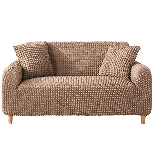 wjwzl Chaiselongue-Sofaüberwurf, elastisch, rutschfest, für Wohnzimmer, Schlafzimmer, Sofa, (4 Sitze) 235x300cm