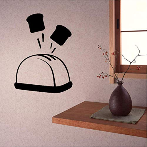 Tostadora Bar Cocina Restaurante Diy Pegatinas De Pared Decorativas Para El Hogar Impermeable Pvc Wallpapers 42X57Cm