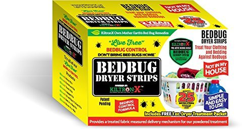 Live-Free Bedbug Dryer Strips- 60 Dryer Loads