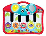 Playgro Piano à Pieds avec Musique et Effets Lumineux, Dès la naissance, Multicolore, 40196