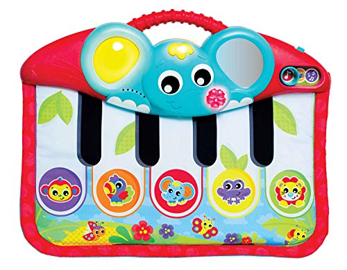 Playgro 0186367 Music and Lights Piano & Kick Pad for Baby Infant Toddler Children, Playgro is Encouraging Imagination with STEM/STEM for a Bright Future - Great Start for a World of Learning