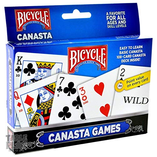 Bicycle 2-Pack Canasta Card Games Standard (Limited Edition)