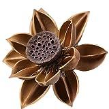 Toruiwa 1x Bouquet de Fleurs artificielles Lotus simulée séchées Fleur Romantique Festival Décoration de Mariage de fêtes de Bureau Home Garden 85 * 8 * 8cm