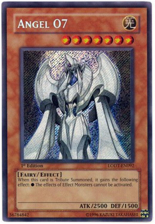 YuGiOh   Angel O7 (LODTEN092)  Light of Destruction  1st Edition  Secr...