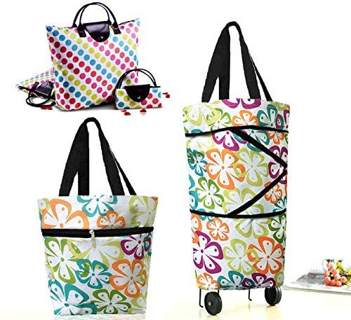 shopping trolley bag on wheels - 3
