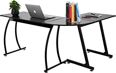 Amazon Com Bestar Hampton Corner Workstation In Sand