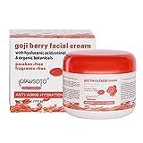 Tellaboull Crema hidratante Antiarrugas portátil de Salud en el hogar Crema Facial de Baya de Goji Cuidado de la Piel Accesorios hidratantes