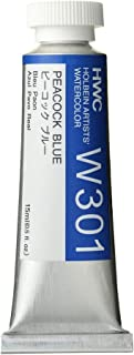 Holbein Artist's Watercolor 15ml Tube (Peacock Blue) W301