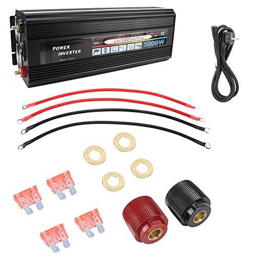 Jadpes 50 3000 Inversor convertidor, IDAL, 5000W AC220V Inversor de Onda sinusoidal Pura Convertidor de Potencia Amplificador Inversor doméstico para la generación de energía eólica Solar