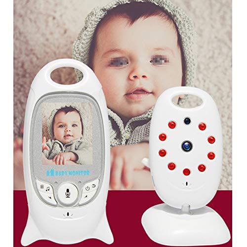 Monitor De Bebé Portátil Pantalla LCD De 2 Colores Intercomunicador De Voz Bidireccional Visión Nocturna Automática