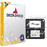 DeltaShield Full Body Skin for Nintendo 3DS (2015 Standard Version)(2-Pack)(Screen Protect...