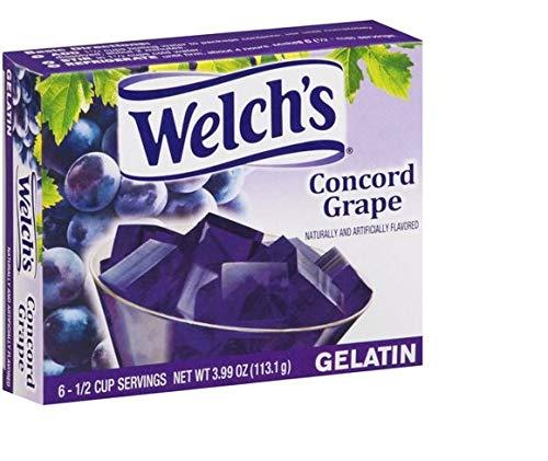 Welch's Concord Grape Gelatin Mix