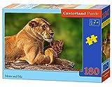 Castorland Classic Mom and Me-Puzzle (180 Piezas), Multicolor (B-018246)