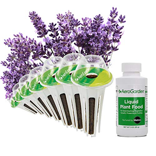 AeroGarden Lavender Seed Pod Kit, 7, Multi-Color