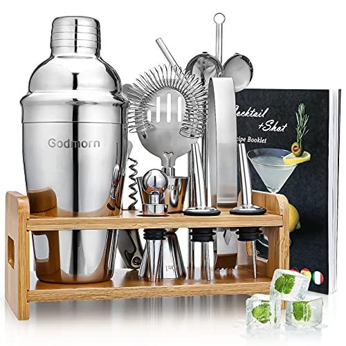 Cocktail Set, Godmorn Edelstahl Cocktail...
