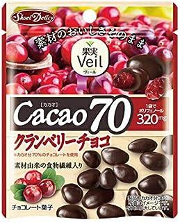 グルメな栄養士セレクト洋菓子 カカオ70クランベリーチョコ 41g×10袋