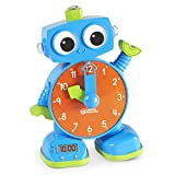 Learning Resources Tock The Learning Clock, Educational Talking & Teaching Clock, Ages 3+