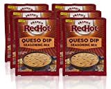 Frank's RedHot Queso Dip Seasoning Mix, 0.87 oz (Pack of 6)