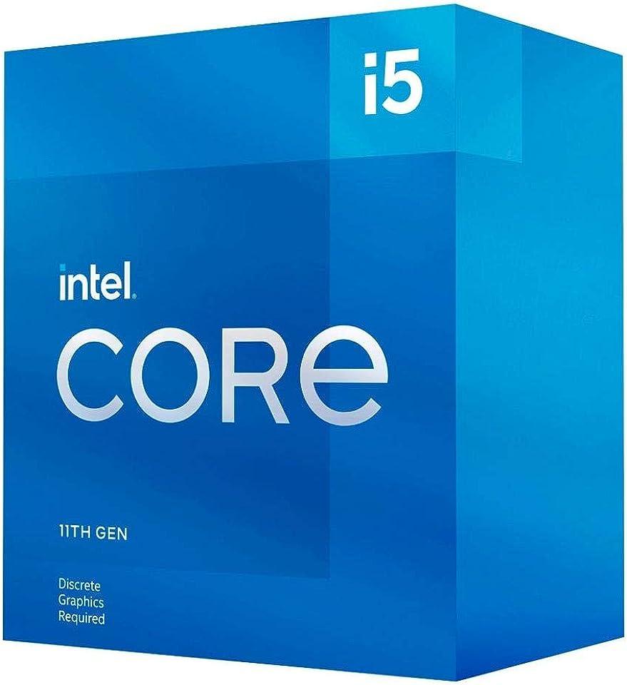 Intel Core i5-11400F 11. Generation Desktop Prozessor (Basistakt: 2.6GHz Tuboboost: 4.4GHz, 6 Kerne, LGA1200) BX8070811400F