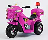 Toyas Kindermotorrad Elektromotorrad Kinder Elektro Motorrad Kinderfahrzeug NEU (Pink)